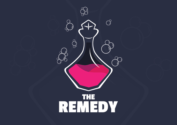 The Remedy Logo design preview